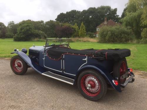 1937 Riley 15/6 Special 4 Seat Tourer for sale in Hampshire. SOLD (picture 2 of 6)
