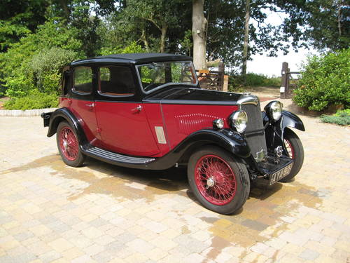 1934 Riley Nine Monaco - Arriving mid-September & For Sale SOLD (picture 1 of 6)
