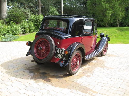 1934 Riley Nine Monaco - Arriving mid-September & For Sale SOLD (picture 2 of 6)