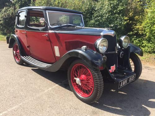1935 Riley Nine Monaco for sale in Hampshire... SOLD (picture 1 of 6)