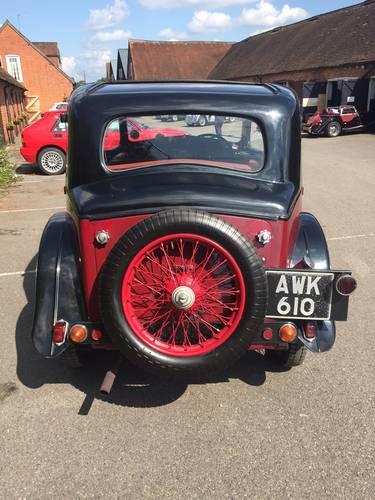 1935 Riley Nine Monaco for sale in Hampshire... SOLD (picture 3 of 6)