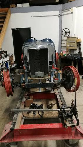 1935 Riley 9 HP sport special project For Sale (picture 3 of 6)
