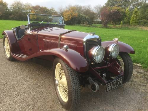 1935 Riley 12/4 Sprite Evocation for sale in Hampshire SOLD (picture 1 of 6)