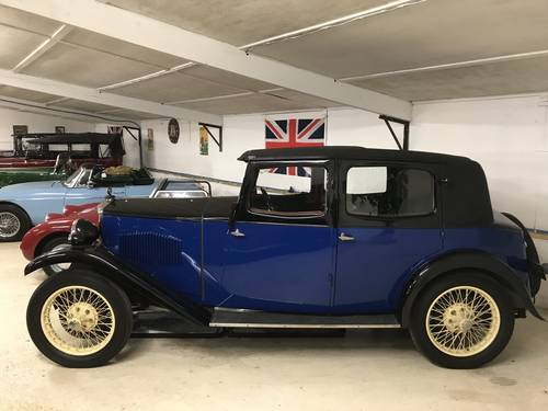 1932 Riley Plus Ultra Monaco - one of the best available... SOLD (picture 1 of 6)