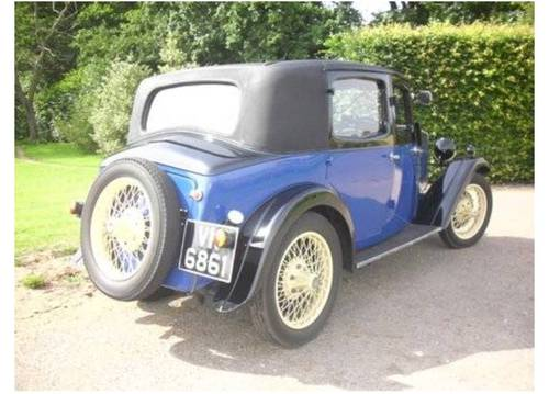 1932 Riley Plus Ultra Monaco - one of the best available... SOLD (picture 3 of 6)
