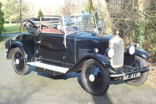 1928 A lovely and possibly unique vintage Riley tourer For Sale (picture 1 of 6)