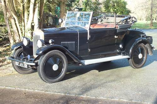 1928 A lovely and possibly unique vintage Riley tourer For Sale (picture 2 of 6)