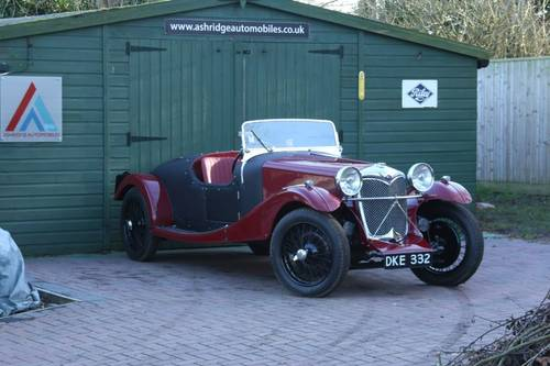 1936 Riley 12/4 Special (Sprite series engine) For Sale (picture 1 of 6)