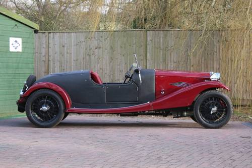 1936 Riley 12/4 Special (Sprite series engine) For Sale (picture 2 of 6)