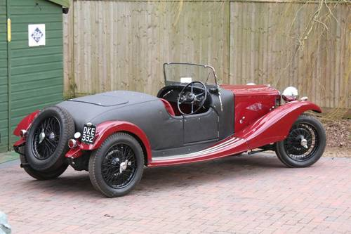 1936 Riley 12/4 Special (Sprite series engine) For Sale (picture 4 of 6)