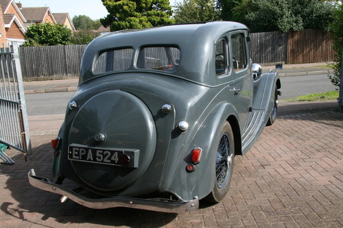 1936 Riley 12/4 Adelphi for sale in Hampshire... SOLD (picture 3 of 4)