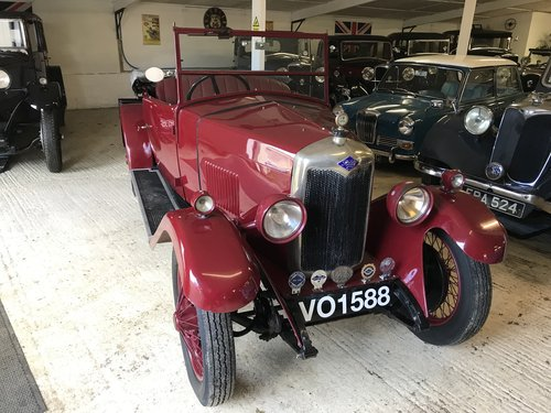 1929 Riley Nine Mk IV 2 seat tourer - Now Sold SOLD (picture 1 of 6)