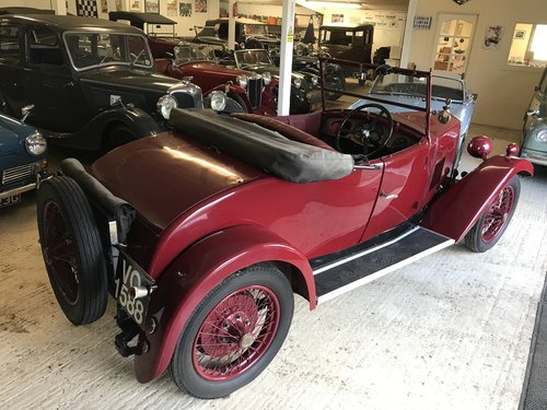 1929 Riley Nine Mk IV 2 seat tourer - Now Sold SOLD (picture 2 of 6)