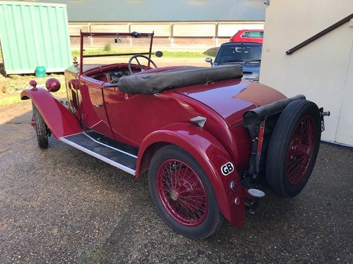 1929 Riley Nine Mk IV 2 seat tourer - Now Sold SOLD (picture 6 of 6)