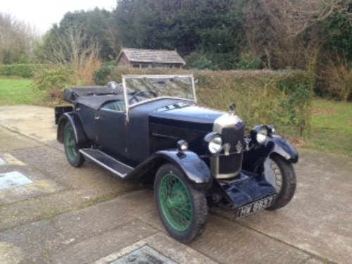 1930 Riley Nine MkIV Four Seat Tourer for sale in Hampshire SOLD (picture 1 of 6)