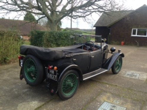1930 Riley Nine MkIV Four Seat Tourer for sale in Hampshire SOLD (picture 2 of 6)