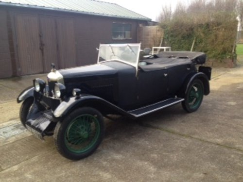 1930 Riley Nine MkIV Four Seat Tourer for sale in Hampshire SOLD (picture 3 of 6)