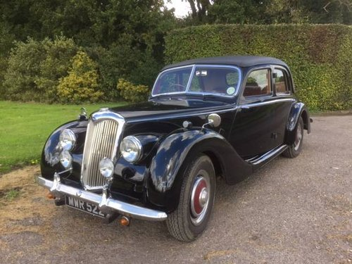 Nissan Of Lawton >> 1953 Riley 1.5 Litre RME SOLD | Car And Classic