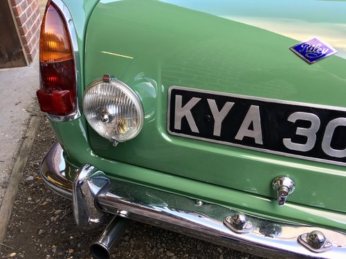 1966 Riley ELF Mk2 998cc Fully Restored SOLD (picture 2 of 6)