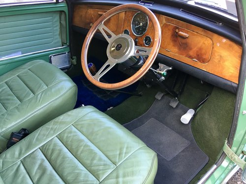 1966 Riley ELF Mk2 998cc Fully Restored SOLD (picture 5 of 6)