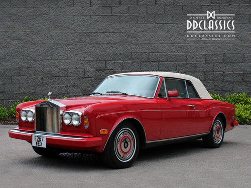 Rolls Royce Corniche II Convertible (LHD) 1988 For Sale (picture 1 of 6)