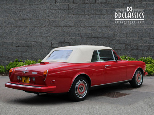 Rolls Royce Corniche II Convertible (LHD) 1988 For Sale (picture 2 of 6)