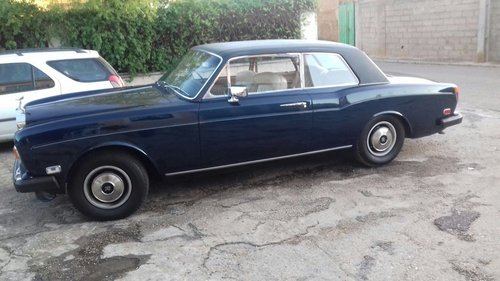 1968 Rolls Royce CORNICHE COUPE RHD For Sale (picture 1 of 4)