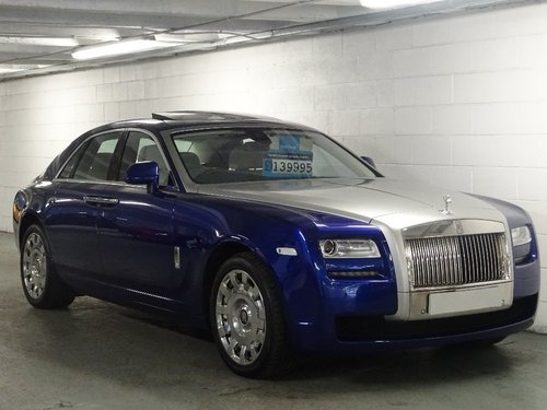 2014 Rolls-Royce Ghost 6.6 4dr PAN ROOF + REAR ENTERTAINMENT For Sale (picture 1 of 6)