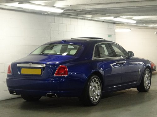 2014 Rolls-Royce Ghost 6.6 4dr PAN ROOF + REAR ENTERTAINMENT For Sale (picture 2 of 6)