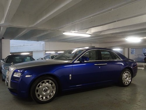 2014 Rolls-Royce Ghost 6.6 4dr PAN ROOF + REAR ENTERTAINMENT For Sale (picture 3 of 6)