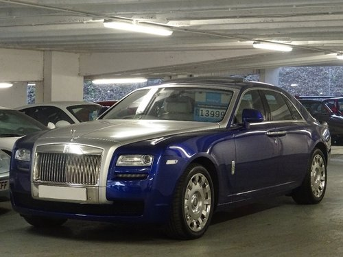 2014 Rolls-Royce Ghost 6.6 4dr PAN ROOF + REAR ENTERTAINMENT For Sale (picture 4 of 6)