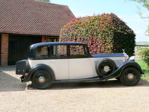 1935 Rolls Royce 20/25 Sports Saloon By Thrupp & Maberly  For Sale (picture 1 of 6)