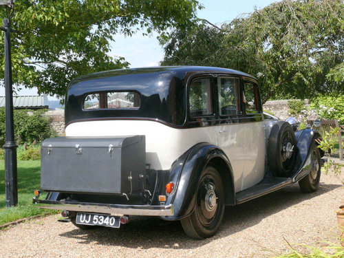 1935 Rolls Royce 20/25 Sports Saloon By Thrupp & Maberly  For Sale (picture 3 of 6)