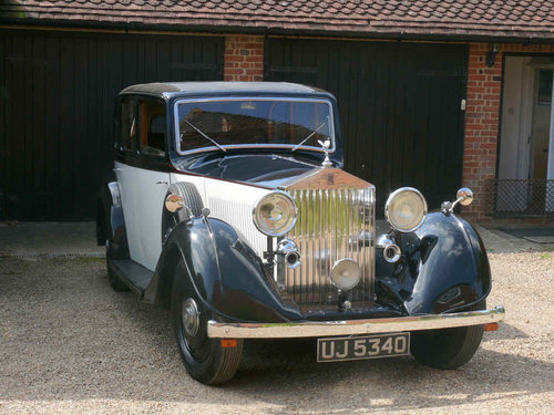 1935 Rolls Royce 20/25 Sports Saloon By Thrupp & Maberly  For Sale (picture 4 of 6)