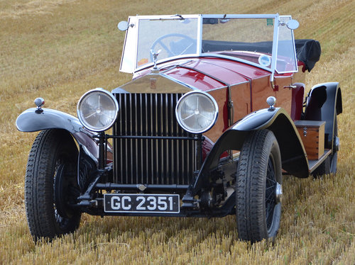 1930 Rolls Royce Phantom II Tourer. For Sale (picture 1 of 6)