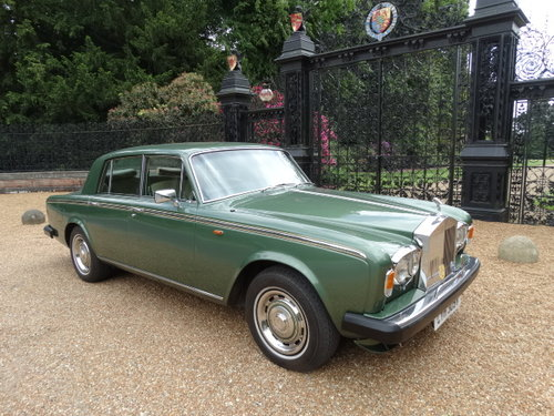 1979 ROLLS ROYCE SILVER SHADOW II For Sale (picture 1 of 6)