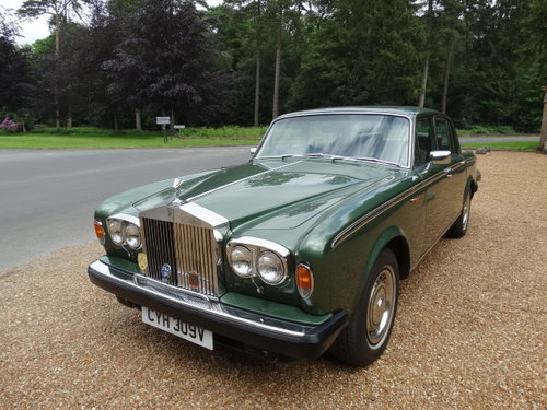 1979 ROLLS ROYCE SILVER SHADOW II For Sale (picture 4 of 6)