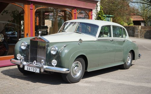 Rolls-Royce Silver Cloud II LWB 1961 LHD For Sale (picture 1 of 3)
