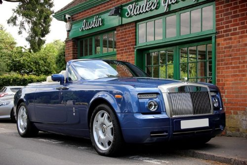2008 Rolls-Royce Phantom Drophead For Sale (picture 2 of 4)