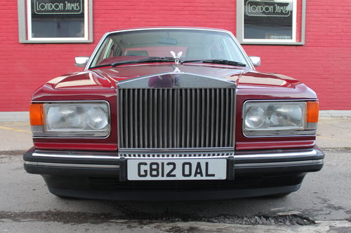 1989 ROLLS-ROYCE SILVER SPIRIT ROLLS ROYCE SILVER SPIRIT AUTOMATI For Sale (picture 2 of 6)