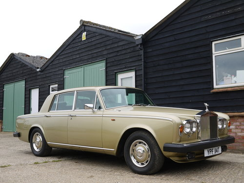 1978 ROLLS ROYCE SILVER SHADOW 2 - 75,000 MILES FROM NEW !! SOLD (picture 1 of 6)