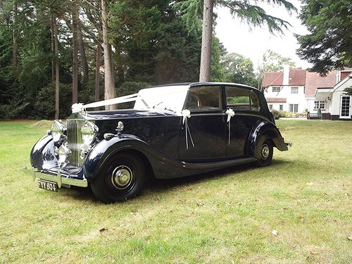 1939 ROLLS ROYCE WRAITH by H J MULLINER 4 DOOR RAZOR SPORTS LIMO  SOLD (picture 1 of 6)