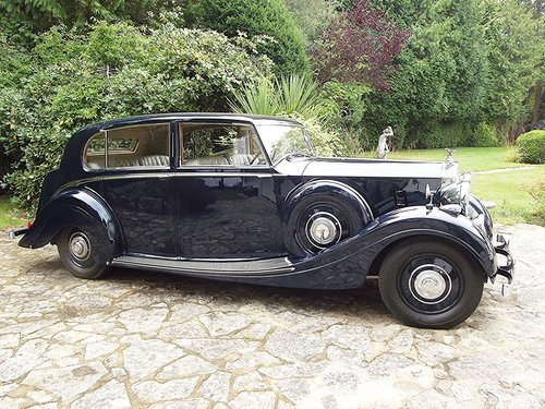 1939 ROLLS ROYCE WRAITH by H J MULLINER 4 DOOR RAZOR SPORTS LIMO SOLD (picture 2 of 6)
