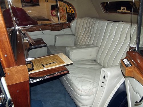 1939 ROLLS ROYCE WRAITH by H J MULLINER 4 DOOR RAZOR SPORTS LIMO SOLD (picture 5 of 6)