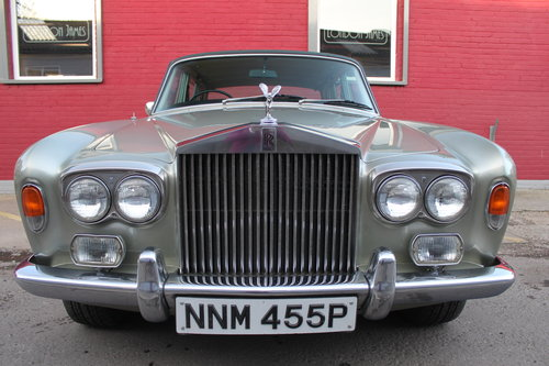 1976 ROLLS-ROYCE SILVER SHADOW LUXURY CLASSIC SILVER SHAOW 1  For Sale (picture 2 of 6)