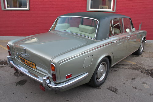 1976 ROLLS-ROYCE SILVER SHADOW LUXURY CLASSIC SILVER SHAOW 1  For Sale (picture 4 of 6)