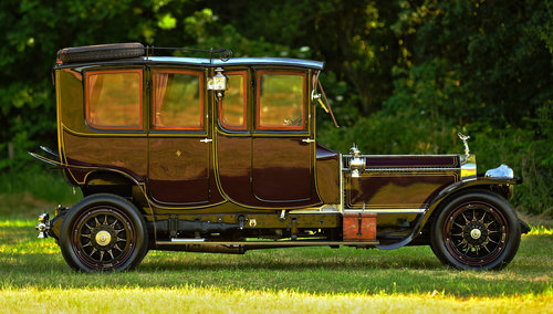 1913 Rolls Royce Silver Ghost Double Cab Limousine For Sale (picture 2 of 6)