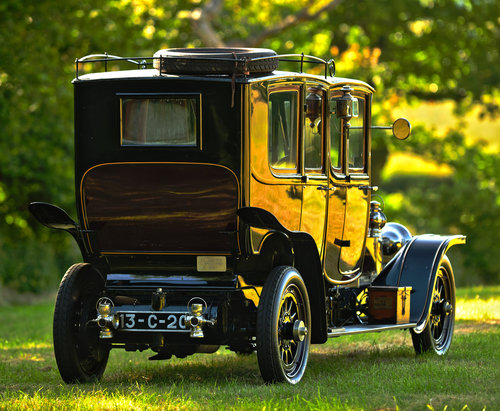 1913 Rolls Royce Silver Ghost Double Cab Limousine For Sale (picture 3 of 6)
