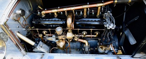 1913 Rolls Royce Silver Ghost Double Cab Limousine For Sale (picture 6 of 6)