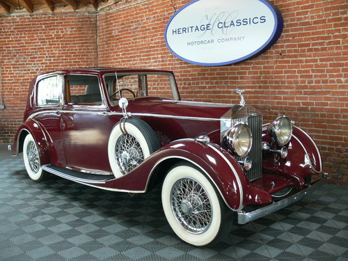 1938 Rolls-Royce 25/30 For Sale (picture 1 of 6)